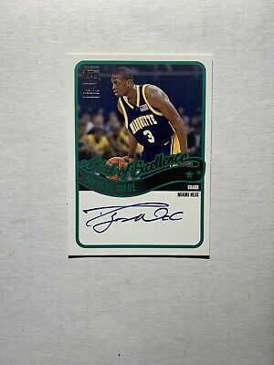 $ CDN285.39 • Buy Dwyane Wade 2003-04 Topps Mark Of Excellence Autographed Rookie Rc Auto Heat Sp