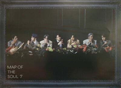 $5.99 • Buy Bts Map Of The Soul 7 Official Poster In Tube - Ver 3