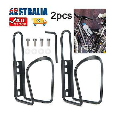 AU10.39 • Buy 2pcs Bicycle Bike Water Bottle Cage Drink Cup Holder Rack Mountain Bike Cycling