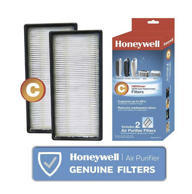 2 Pack Honeywell HEPAClean C Hepa-Type Replacement Air Purifier Filters HRF - C2 • 15.42£