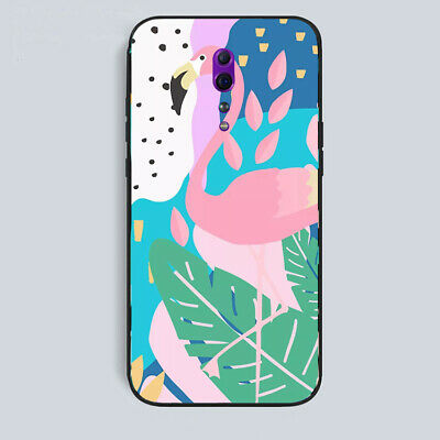 AU14.20 • Buy OPPO A73/A9 2020/A52/A72/R11/R11s/R15/Reno Z Case Soft Thin Pink Flamingo Cover