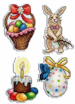 Counted Cross Stitch Kit MP STUDIO - Easter Joy. Magnets • 10.19£