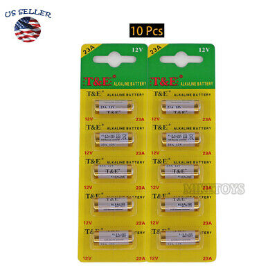$ CDN8.85 • Buy 10PACK Battery A23 23A 21/23 MN21 23AE Car Remote FOB Control Doorbell Exp 12/25