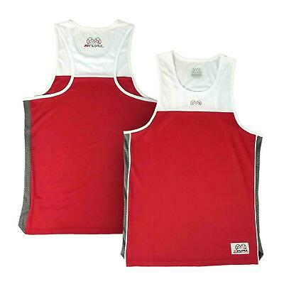 £22.99 • Buy Rival Boxing Jersey Vest Amateur Competition Training Red