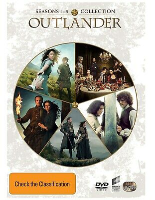 AU106.08 • Buy Outlander Seasons 1 5 Box Set DVD Region 4 NEW