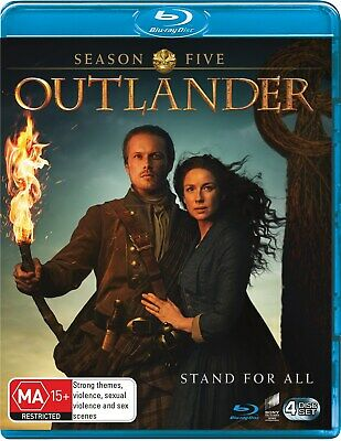 AU31.96 • Buy Outlander Season Five Box Set Blu-ray Region B NEW