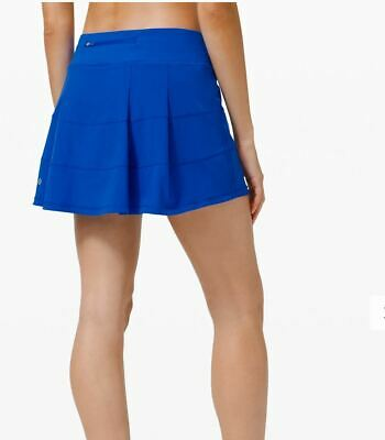 $ CDN124.99 • Buy Lululemon Nwt Pace Rival Skirt Sz 10 Tall Cerulean Blue Tennis Golf Beach Run