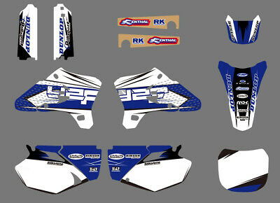 $44.99 • Buy Team Graphics Backgrounds Decals Sticker For Yamaha YZ250F YZ450F 2003 2004 2005