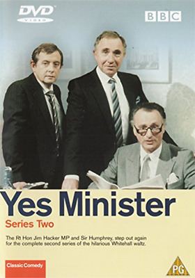 Yes Minister - Series Two (DVD) (2002) Paul Eddington • 1.79£