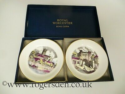 Royal Worcester  A Pair Of Pin Dishes Or Trays  • 9.99£