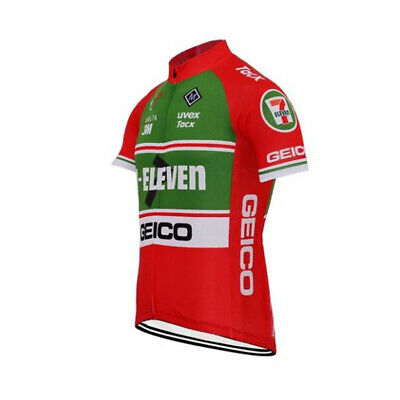 AU26.72 • Buy Retro 7 Eleven Cycling Jersey Cycling Short Sleeve Jerseys
