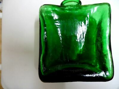 Green Glass Apothecary Bottle 19th Century • 22£