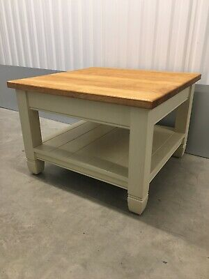 Neptune Chichester Solid Oak Top Kitchen Dining Lounge Low Side Table RRP£440  • 295£