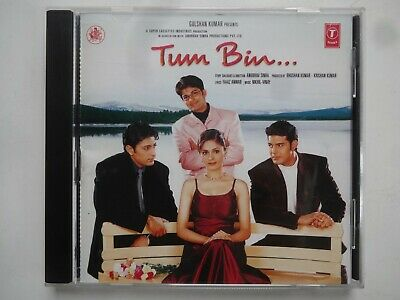 TUM BIN ~ Bollywood Soundtrack Hindi CD ~ Nikhil Vinay ~ 2001 • 9.95£