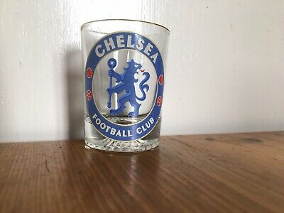 Chelsea FC Shot Glass Official Football Club Gifts • 3£