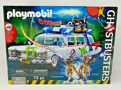 PLAYMOBIL GHOSTBUSTERS #9220 GHOSTBUSTERS Ecto-1 - New -  Free Shipping! • 54.26£