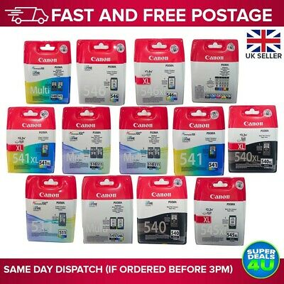 CANON INK  *Various Genuine CANON Ink Cartridges *Free Postage 🇬🇧 * • 16.49£