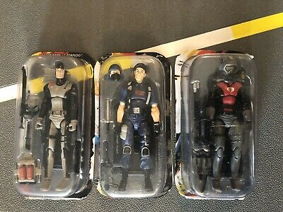 $ CDN60.32 • Buy Gi Joe 25th Anniversary Lot Of 3 Torpedo Cobra Eel Flint In Disguise Read L@@K