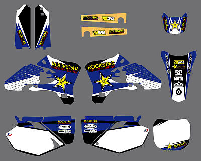 $44.99 • Buy Team Graphics & Backgrounds Decals Kits For Yamaha YZ250F YZ450F 2003 2004 2005