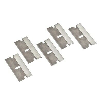 AU3.79 • Buy Razor Scraper Blade - Hard Back Single Edge - 5X