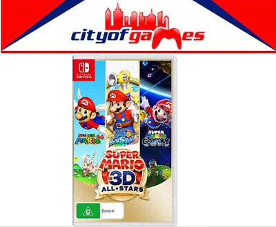 AU74.95 • Buy  Super Mario 3D All Stars Nintendo Switch Game Brand New In Stock