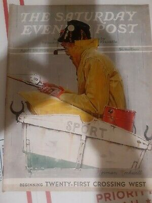 $ CDN12.05 • Buy Norman Rockwell Cover Saturday Evening Post-april 29 1939  Great Ads !