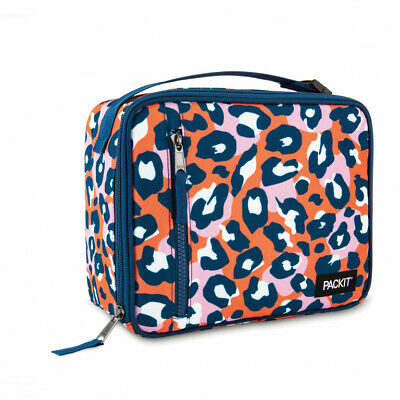 AU31.96 • Buy Packit Freezable Lunch Box BPA Free Food Container Wild Leopard Christmas Gift
