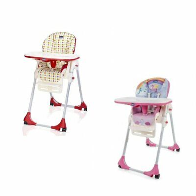 Chicco Polly Easy 4 Wheels Highchair  • 79.99£