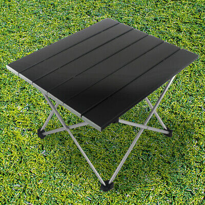 Lightweight Folding Camping Table Stool Portable Outdoor Table With Storage Bag • 15.95£