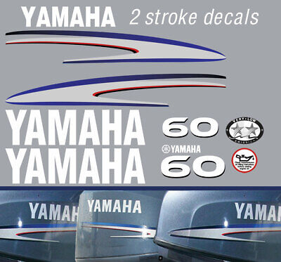 AU66 • Buy YAMAHA 60hp 2 Stroke And 4 Stroke Outboard Decals