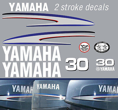 AU66 • Buy YAMAHA 30hp 2 Stroke And 4 Stroke Outboard Decals