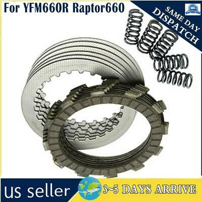 $27.05 • Buy Raptor 660 Heavy Duty Clutch Kit With Springs For Yamaha 2001-2005 Motor Engine