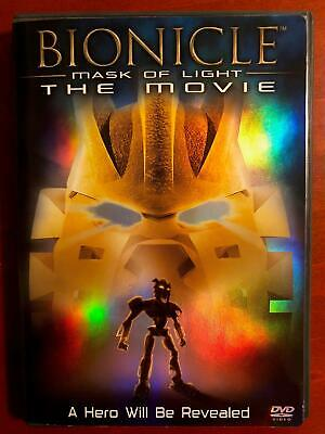 $0.99 • Buy Bionicle - Mask Of Light The Movie (DVD, 2003) - H0110