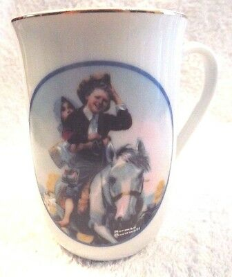 $ CDN6.31 • Buy Norman Rockwell Porcelain Coffee Tea Mugs Saturday Evening Post Qty 3