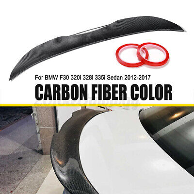 $82.88 • Buy Carbon Fiber Color Trunk Boot Spoiler Wing MPS Style For BMW 3 Series F30 F80