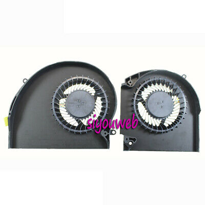 $ CDN28.73 • Buy New For Dell Alienware 17 R4 17 R5 CPU GPU Cooling Fan Set