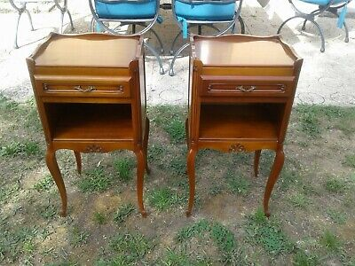 £295 • Buy French Antique Vintage Louis Philippe Style Bedside Tables