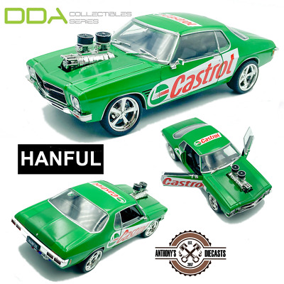 AU77.90 • Buy 1:24 HANFUL Castrol Livery-- 1973 Holden Monaro HQ GTS Custom Burnout Car