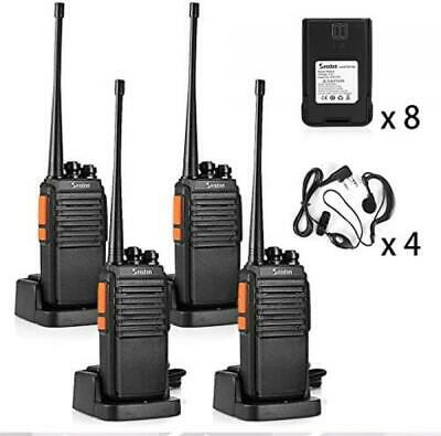$ CDN144.96 • Buy 4PK Long Range Walkie Talkies Rechargeable 2 Way Radio UHF W/ Earpiece/Headsets