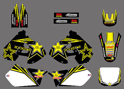 $59.99 • Buy Team Graphics Backgrounds Decals Stickers For Suzuki RM125 RM250 1999-2000 99 00