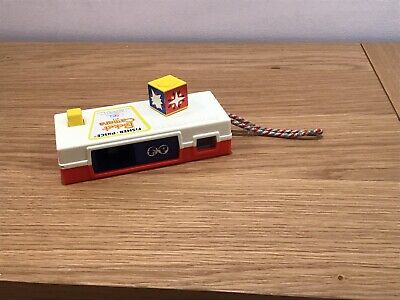 """Vintage Fisher Price 464 Pocket Camera Toy """"A Trip To The Zoo"""" In Working Order • 12£"""