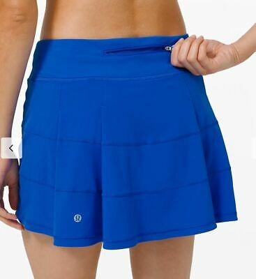 $ CDN124.99 • Buy Lululemon Nwt Pace Rival Skirt Sz 6 Tall Cerulean Blue Tennis Golf Beach Run Gym