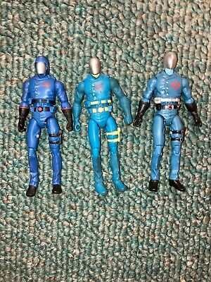 $ CDN22.40 • Buy G.I. Joe 25th  Lot Of 3 Cobra Commander Bodies Figures