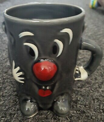 Vintage Collectable DUSTY BIN 3-2-1 TV Show Character Ceramic Mug Collectable • 12.99£