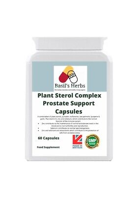 Prostate Support Plant Sterol Complex - 60 Capsules - Health Supplement  • 10.79£