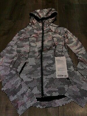 $ CDN600 • Buy Lululemon Seawheeze 2020 Mist Over Windbreaker Reflective Size 4 NWT