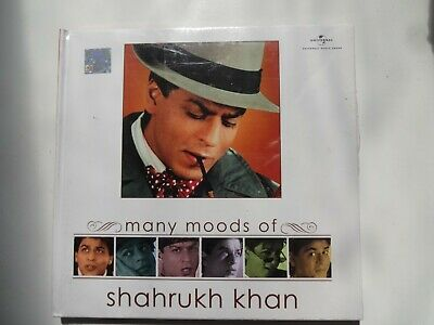 MANY MOODS OF SHAHRUKH KHAN ~ Bollywood Soundtrack Hindi CD ~ 2006 ~ New • 2.95£
