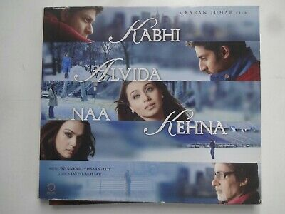 KABHI ALVIDA NAA KEHNA ~ Bollywood Soundtrack / Hindi CD ~ Shankar Ehsaan ~ 2006 • 2.45£
