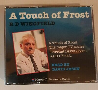 A Touch Of Frost By R. D. Wingfield (CD-Audio, 2005) Audiobook David Jason • 11.99£