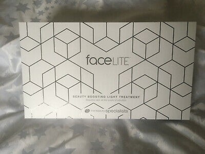 Rio FaceLITE Beauty Boosting LED Face Mask Brand New & Sealed RRP £350 • 265£